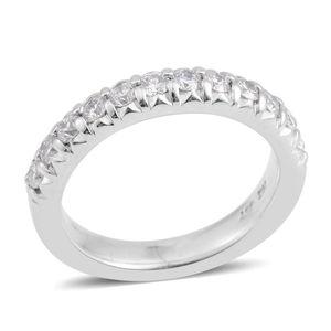 14K WG Diamond (G I2) Ring (Size 6.0) TDiaWt 0.63 cts, TGW 0.63 cts.
