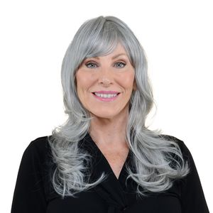 One Time Only Easy Wear Hair Shelley Wig - Salt & Pepper
