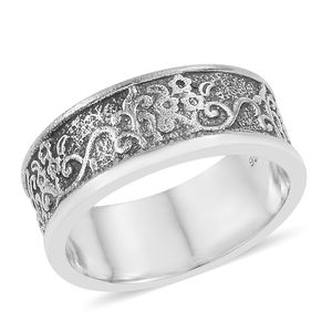 Sterling Silver Band Ring (Size 7.0)