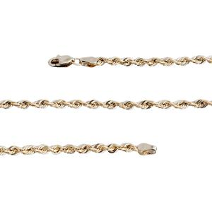 10K YG Rope Chain (30 in)
