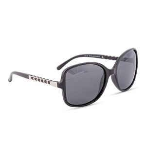 UV 400 Tac Polarized Sunglasses (Black/Silver)