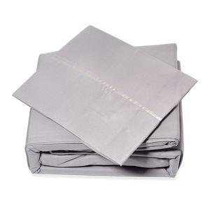 Lexington 2800 Silver Microfiber 6 Piece Sheet Set (King)