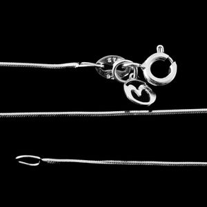 Sterling Silver Snake Chain (30 in) (3.7 g)