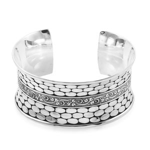 Bali Legacy Collection Sterling Silver Cuff (7.50 in, 51.4 g)